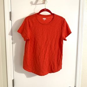 Tops - Orange basic tee